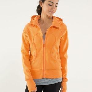 Lululemon Scuba hoodie 6 in EUC Orange Soda
